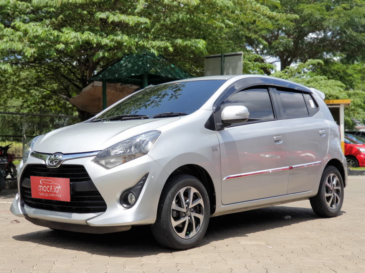 TOYOTA AGYA 1.2L G AT 2018