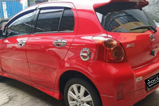 TOYOTA YARIS S LIMITED A/T 2012
