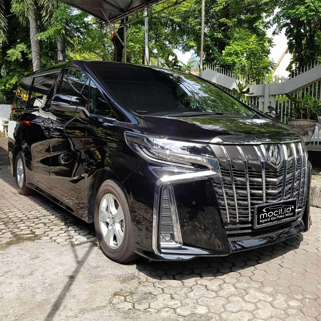 TOYOTA ALPHARD G 2.5L AT 2019