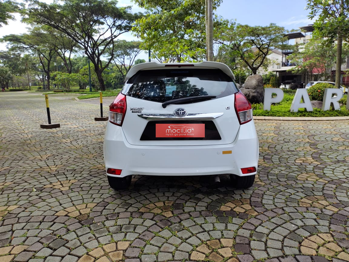 TOYOTA YARIS 1.5L G AT 2014