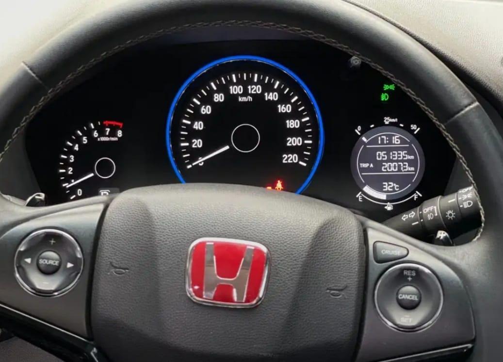HONDA HR-V 1.5L E CVT AT 2017
